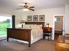 Master Bedroom at  the Inn